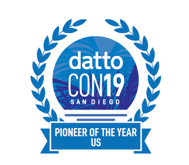 Pioneer of the year Dattocon19